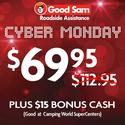 1 Year of Good Sam Roadside Assistance $69.95