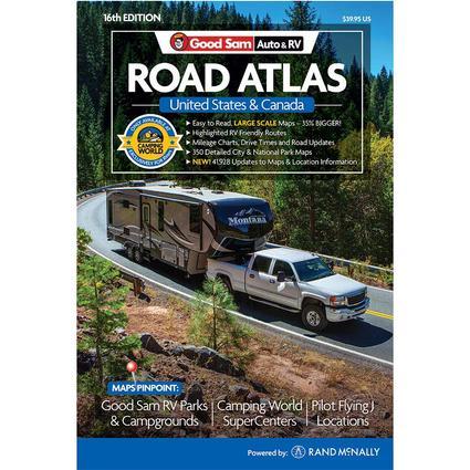 2017 Good Sam Auto RV Road Atlas