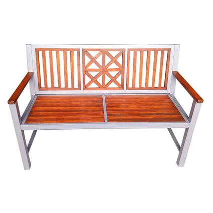 Laguna Park Bench with Synthetic Slats