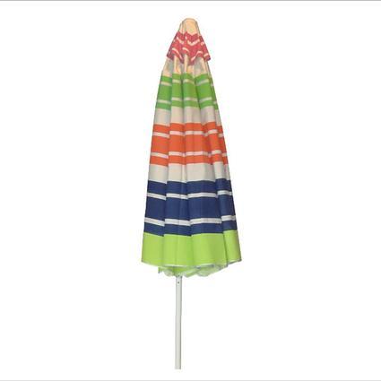 Multi-color Fantasy Umbrella with Crank, 9'