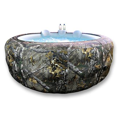 6-Person Portable Hot Tub, Realtree Xtra