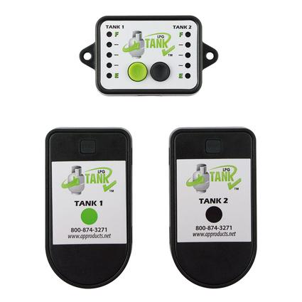 LPG Tank Check Dual Sensor with Monitor Kit