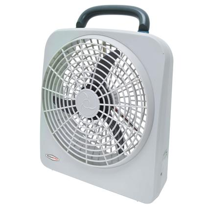 Indoor/Outdoor Dual Power Fan, 12 Volt