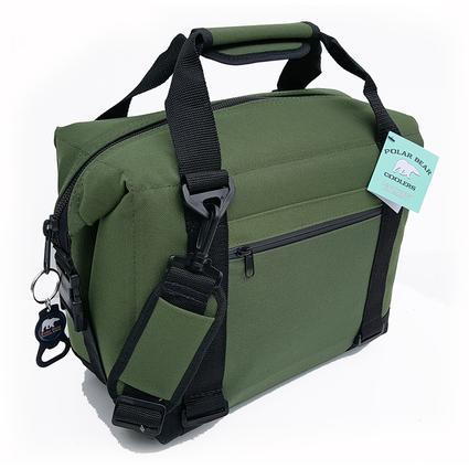 Polar Bear 12 Pack Cooler, Green