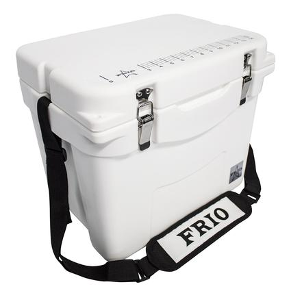 Frio Hard Side Ice Chest, White, 25 Qt.