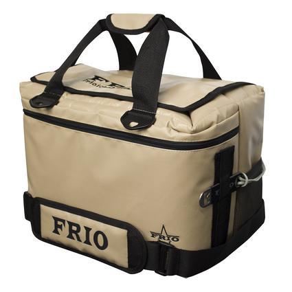Frio Vault Soft Side Cooler, Tan, 24 Cans