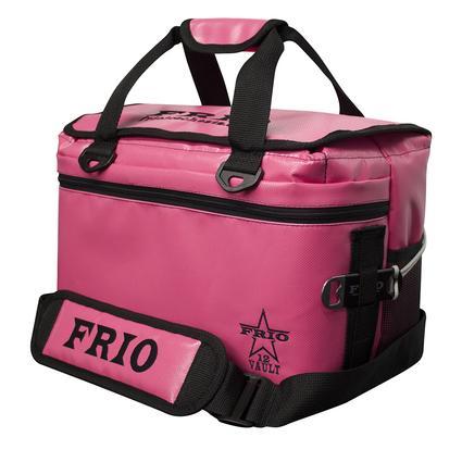 Frio Vault Soft Side Cooler, Pink, 12 Cans