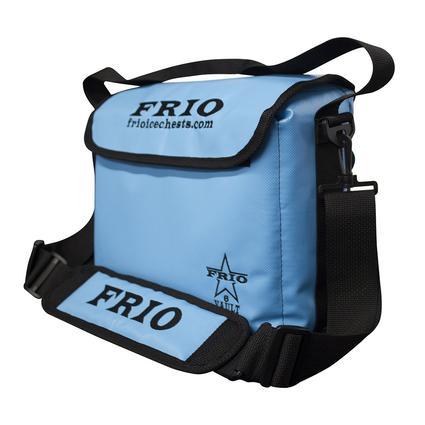 Frio Vault Soft Side Cooler, Blue, 6 Cans