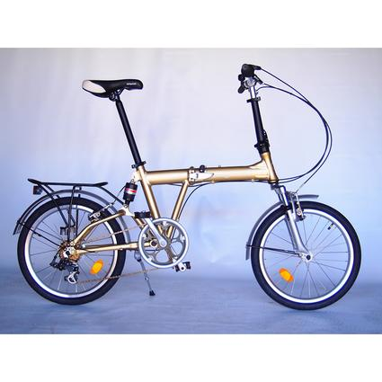 Origami Mantis Bike, Metallic Mocha
