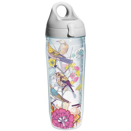 Tervis 24 oz. Water Bottle, Sketched Birds Branches