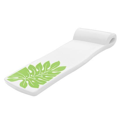 Ultra Sunsation Pool Float, Green Leaf