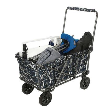 Gray Camo Folding Wagon