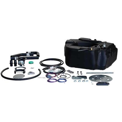 Titan Spare Tire Auxiliary Fuel System, For 2011-2016 GM 2500 3500 Pickups with Duramax Engine