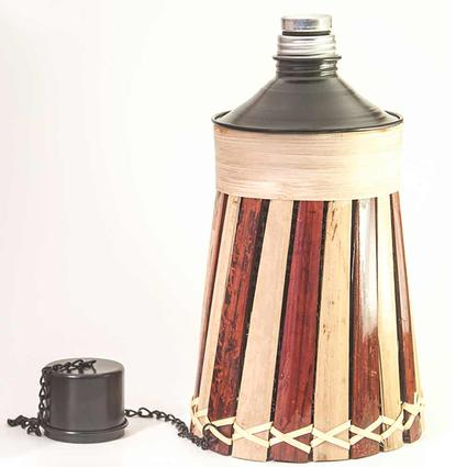 8 Tabletop Bamboo Torch