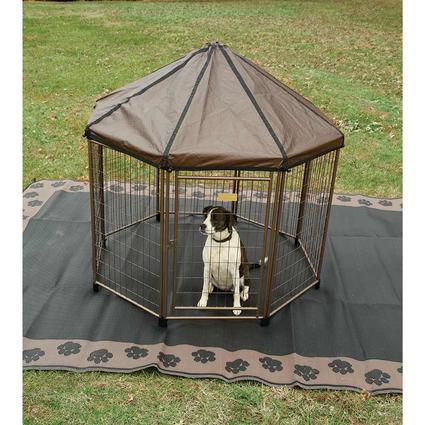 Pet Gazebo Outdoor Kennel