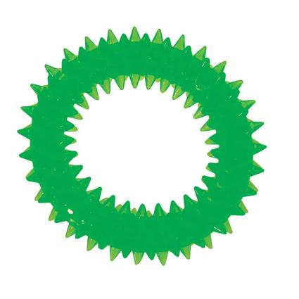 Pet Dental Ring, Small, Lime