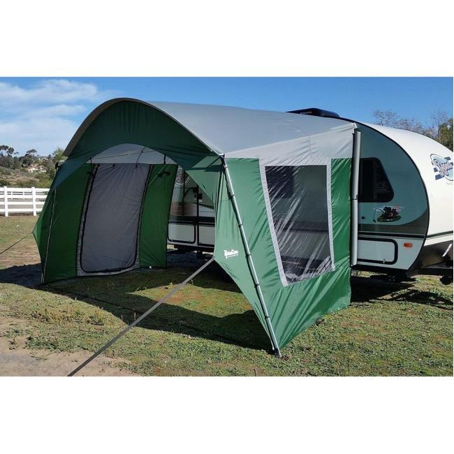Image R Pod Trailer Side Tent Green To Enlarge The Click