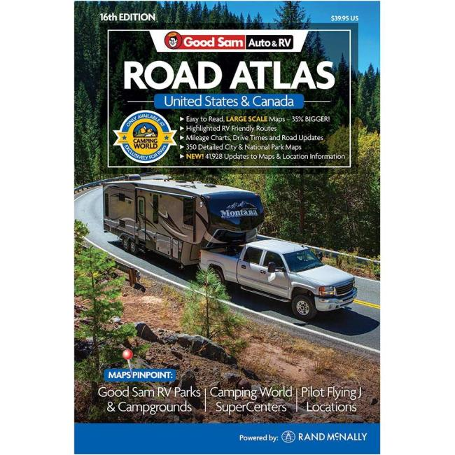 Image 2017 Good Sam Auto RV Road Atlas To Enlarge The Click