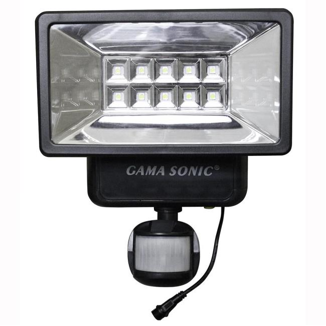 Solar security light with motion sensor gama sonic usa inc 10pir01 image solar security light with motion sensor to enlarge the image click or press aloadofball Image collections