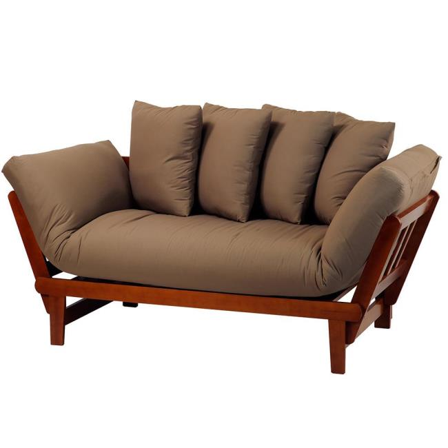 Image Casual Lounger Sofa Bed, Oak. To Enlarge The Image, Click Or Press .