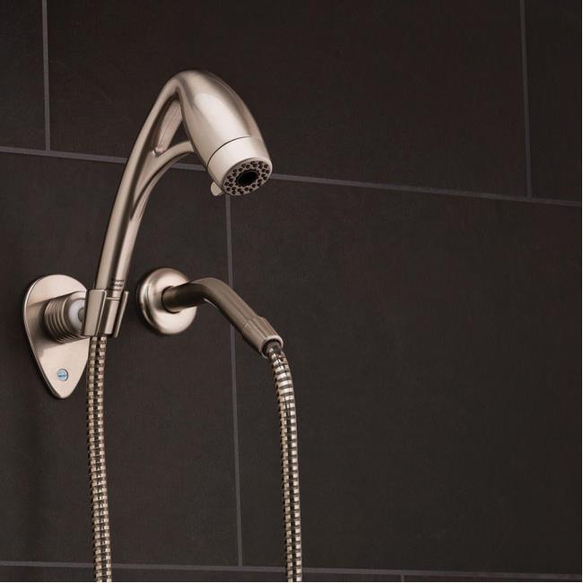 Image BodySpa Adventure RV Handheld Shower, Brushed Nickel. To Enlarge The  Image, Click .