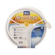 White Never-Kink RV Marine Hose, 50 x 5/8
