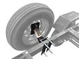 Tongue Mount Spare Tire Carrier