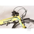 Origami Crane 8 Bike, Yellow