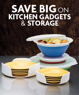 Save BIG on Kitchen Gadgets and Storage!